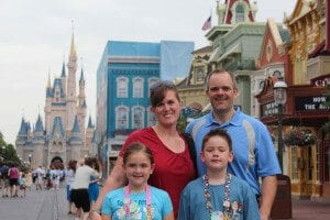 The Wehrenberg Family - Disney World