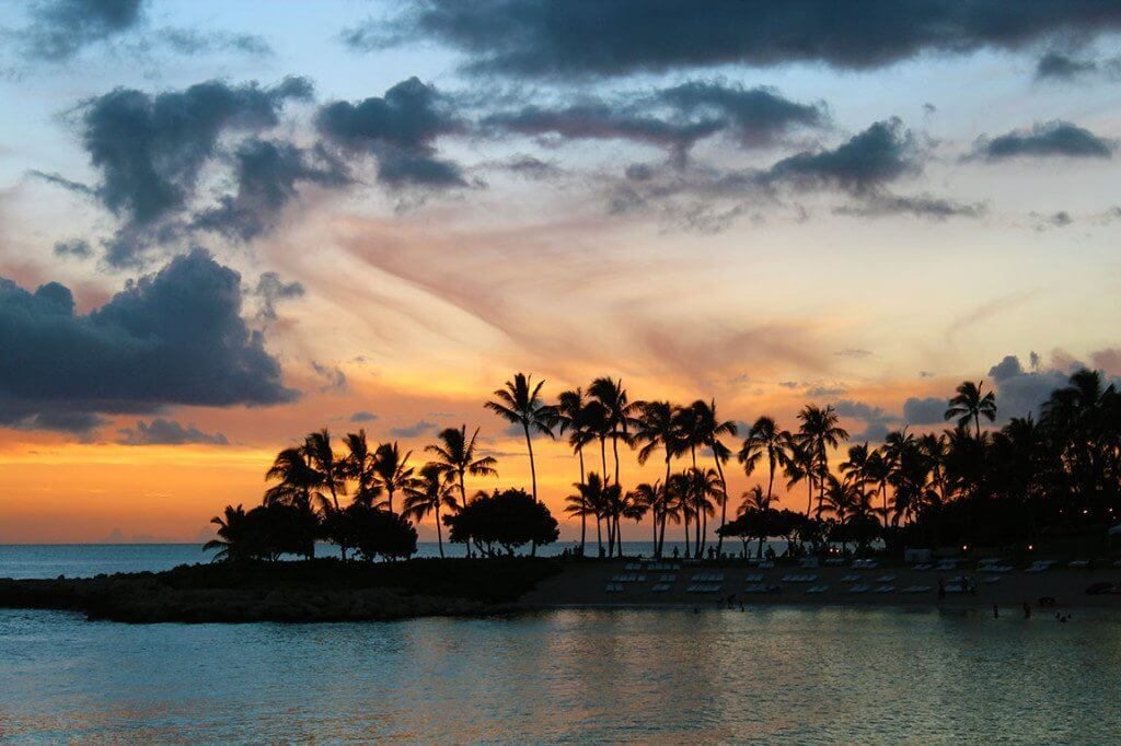 Hawaiian Sunset.
