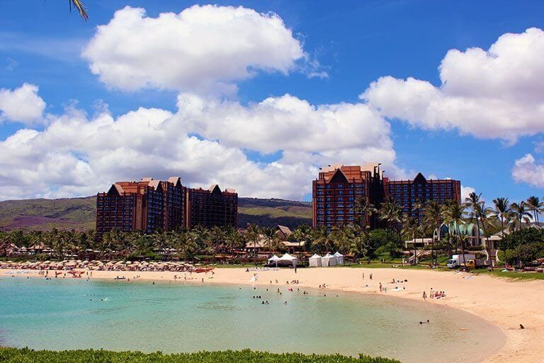 View of Aulani.