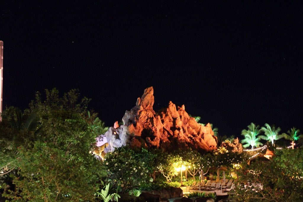 Aulani at night.