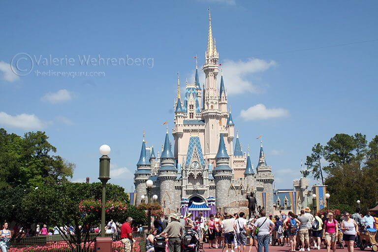 Cinderella's Castle at The Magic Kingdom at Disney World.